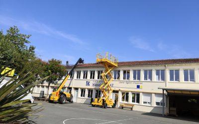Inauguration de la première centrale photovoltaïque citoyenne de Gironde