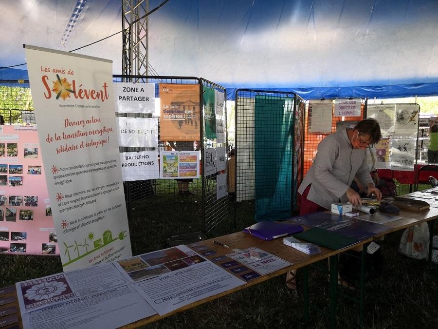 Participation au village des Assos